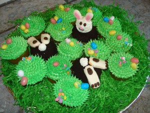 Easter cupcakes 2010 3