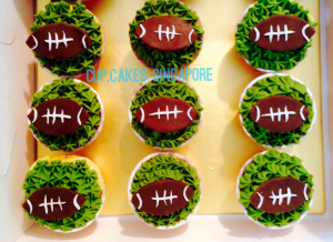 Cake Decorating Course Rugby : Sports Themed Cupcakes Singapore For the Sporty You