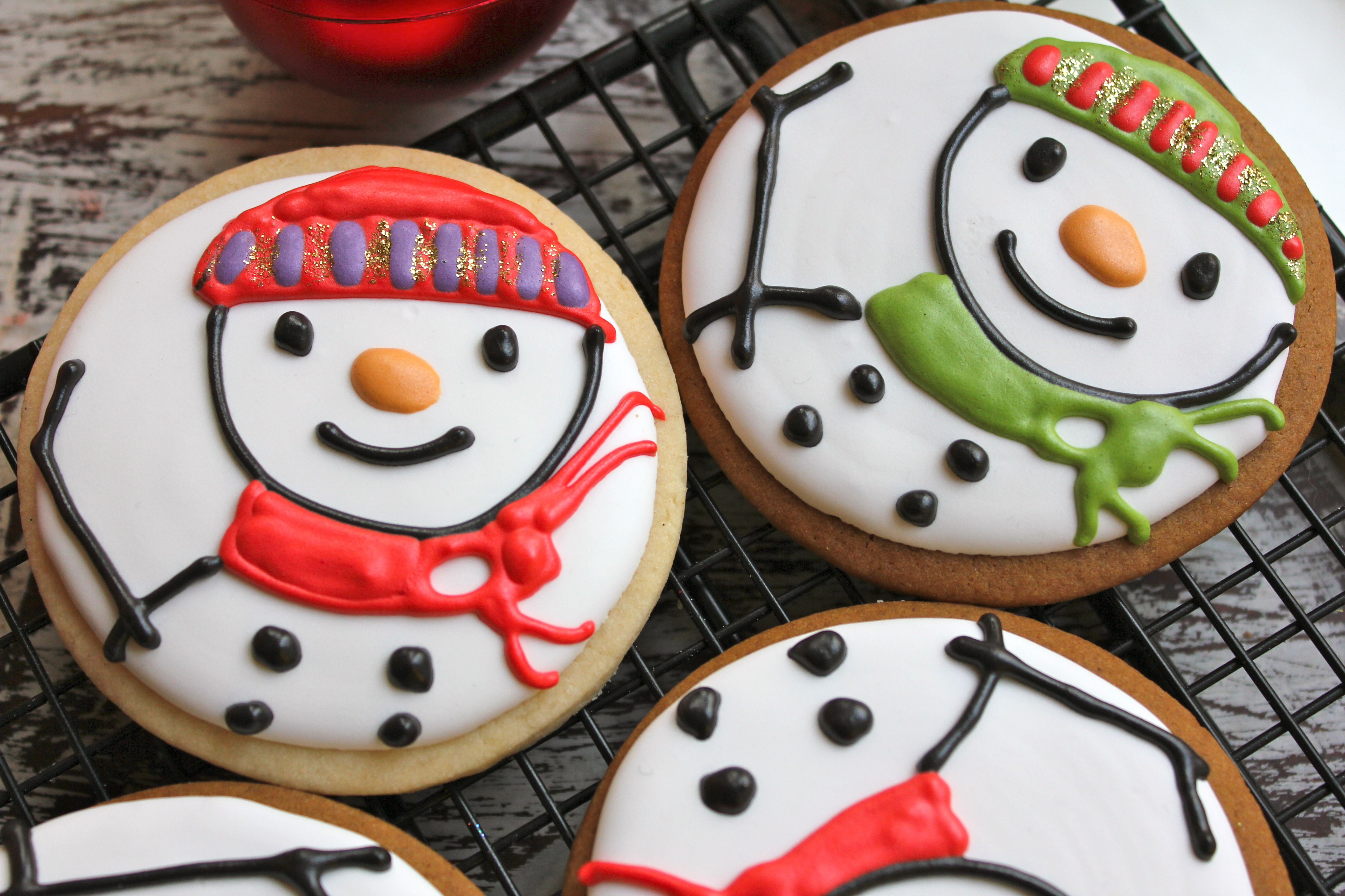 Freshly Baked Christmas Design Cookies