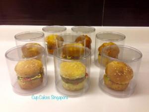 burger individual wrap