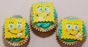 cartoon-SpongeBob-Cupcakes