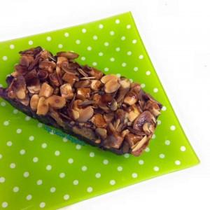 chocolate pumpkin brownies loaf