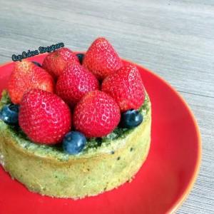 matcha cake 1
