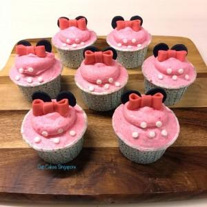 minnie-cupcakes