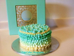onbre cake copy