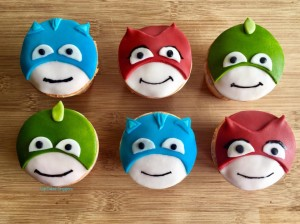 Pj Mask Cupcake Singapore Cartoon Cakes Singapore
