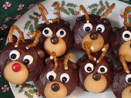 reindear cupcake