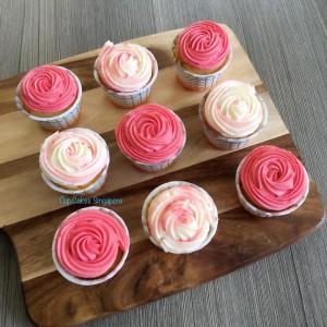 rosettes cupcakes