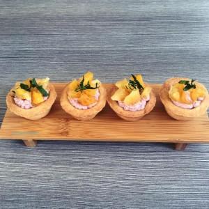 savory starfruit tarts 3