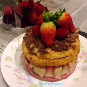 strawberry fraise cake