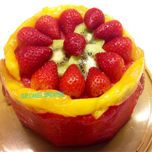 water melon cake